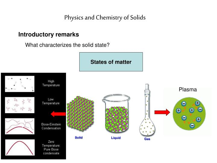 physics and chemistry of solids n.