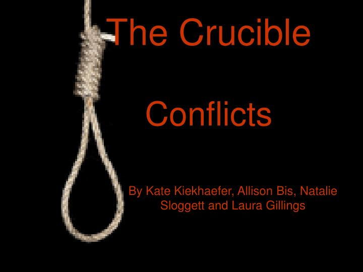 the crucible conflicts n.