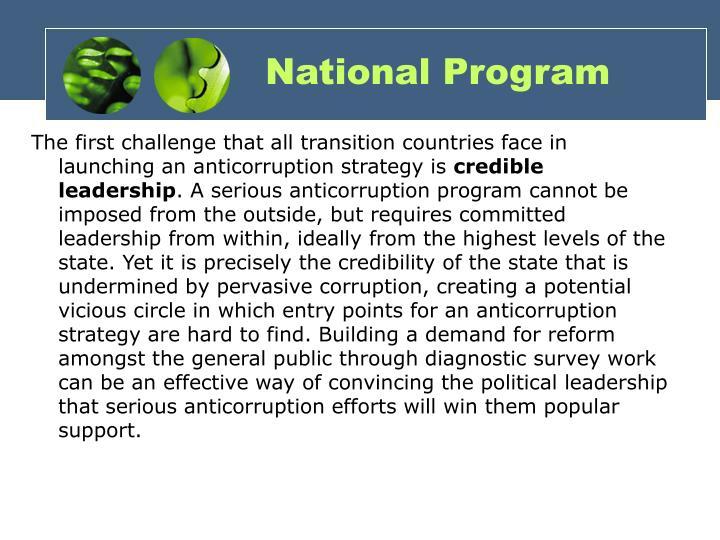 National Program