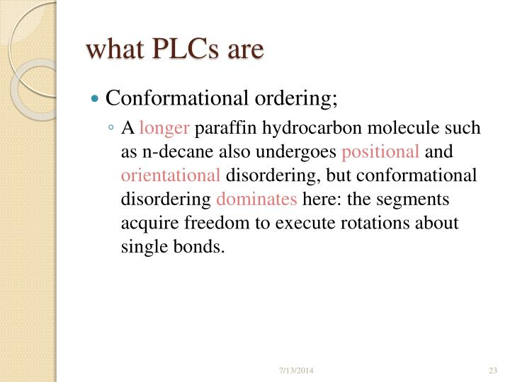 what PLCs are