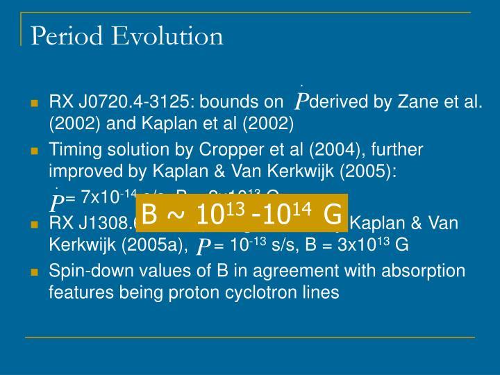 Period Evolution