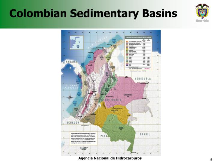 Colombian Sedimentary Basins