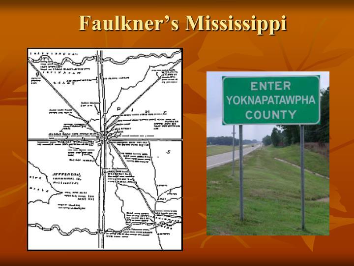 Faulkner's Mississippi