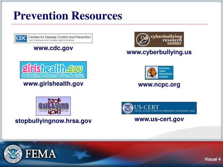 Prevention Resources