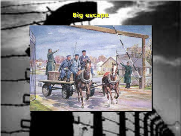 Big escape