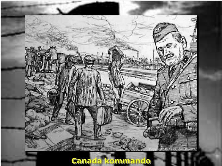 Canada kommando