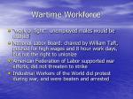 wartime workforce