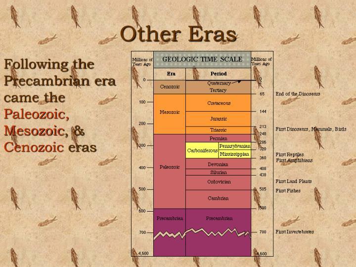 Other eras