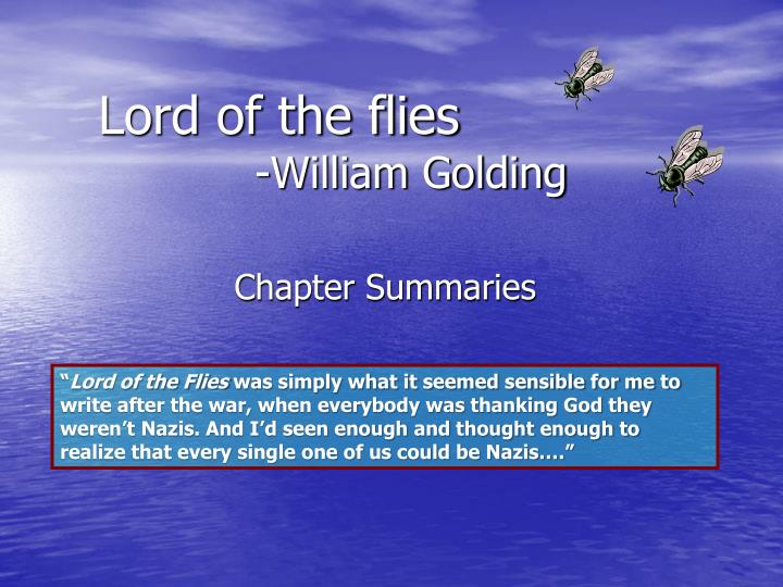 Religious Symbolism In Lord Of The Flies By William Golding Custom