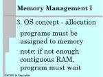 memory management i2