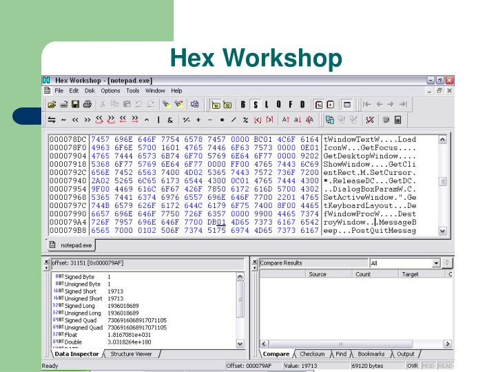 Hex Workshop