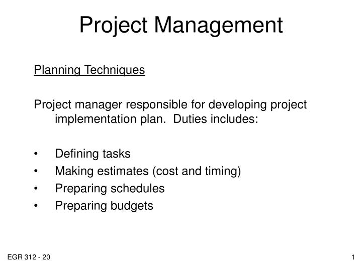 Duties of a project manager   Term paper Academic Service ...