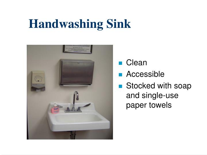 Handwashing Sink