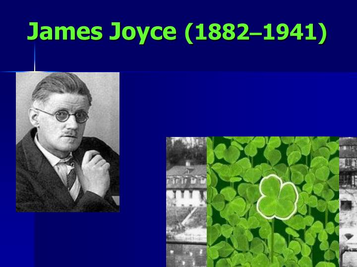 the life of james joyce an irish novelist and poet James joyce, in full james augustine aloysius joyce, (born february 2, 1882, dublin, ireland—died january 13, 1941, zürich, switzerland), irish novelist noted for his experimental use of language and exploration of new literary methods in such large works of fiction as ulysses (1922) and finnegans wake (1939.