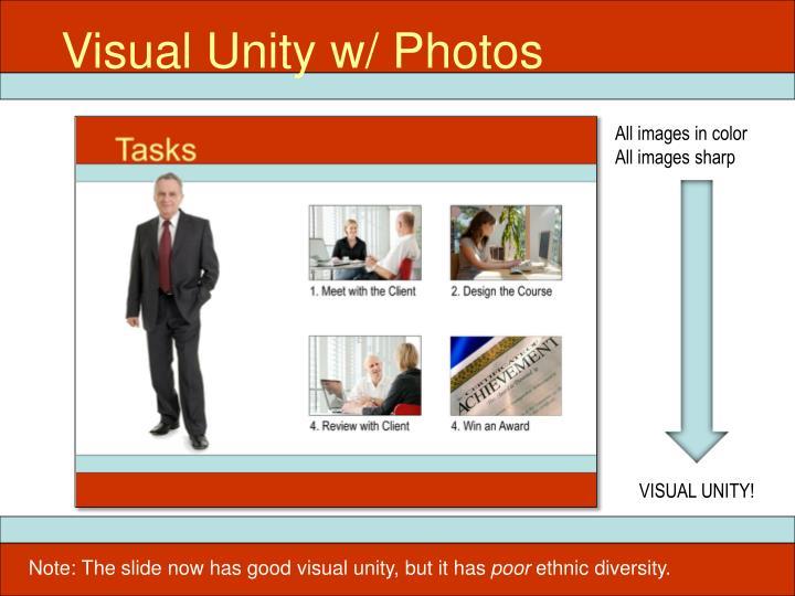 Visual Unity w/ Photos