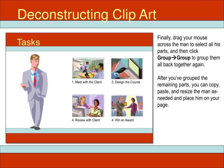 Deconstructing Clip Art