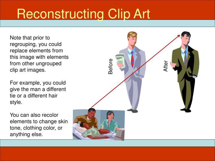 Reconstructing Clip Art