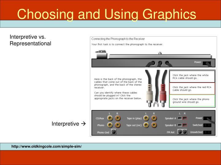 Choosing and Using Graphics