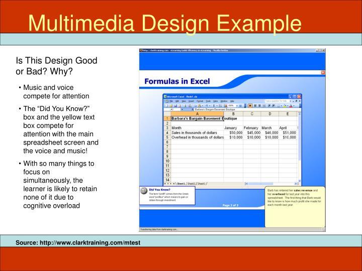 Multimedia Design Example