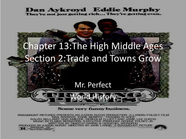 Chapter 13:The High Middle Ages