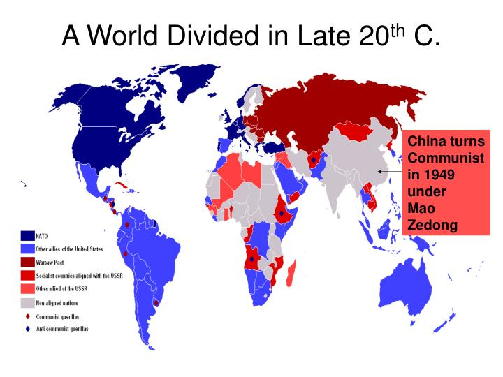 A World Divided in Late 20