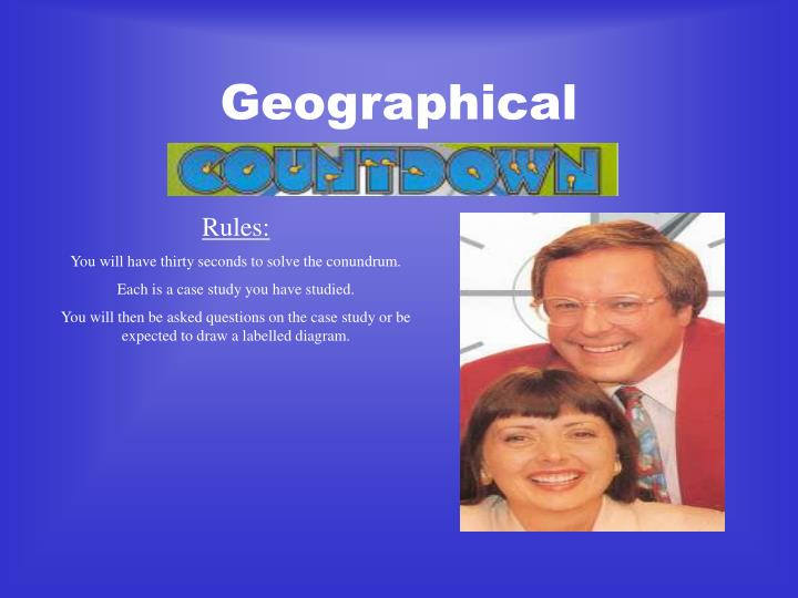 geographical n.