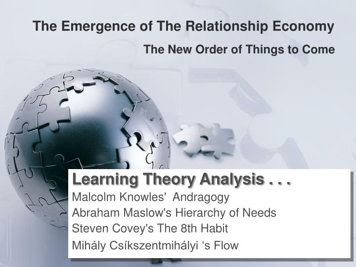 the emergence of the relationship economy n.