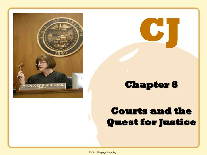 chapter 8 courts and the quest for justice n.