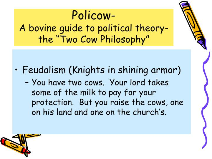 policow a bovine guide to political theory the two cow philosophy n.