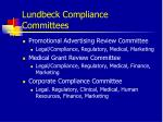 lundbeck compliance committees