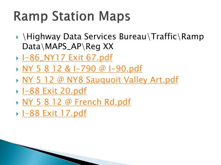 Ramp Station Maps