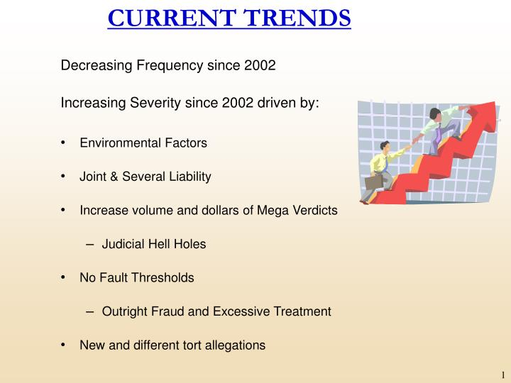 current trends n.