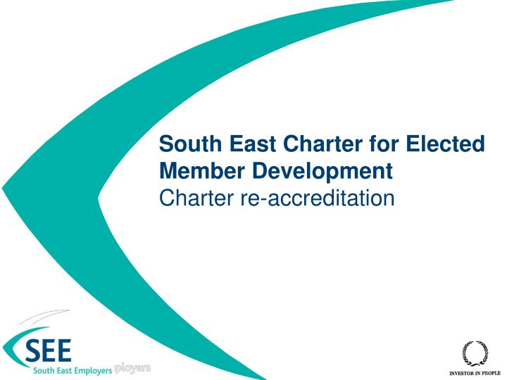 south east charter for elected member development charter re accreditation n.