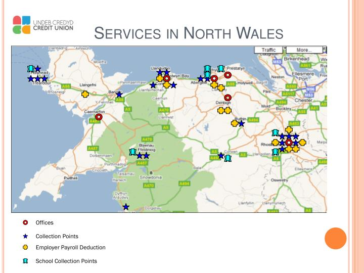 Services in north wales