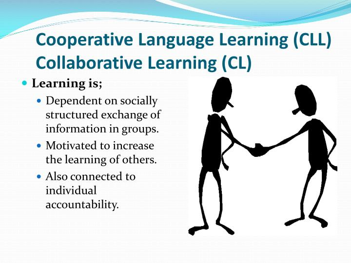 cooperative language learning cll collaborative learning cl n.