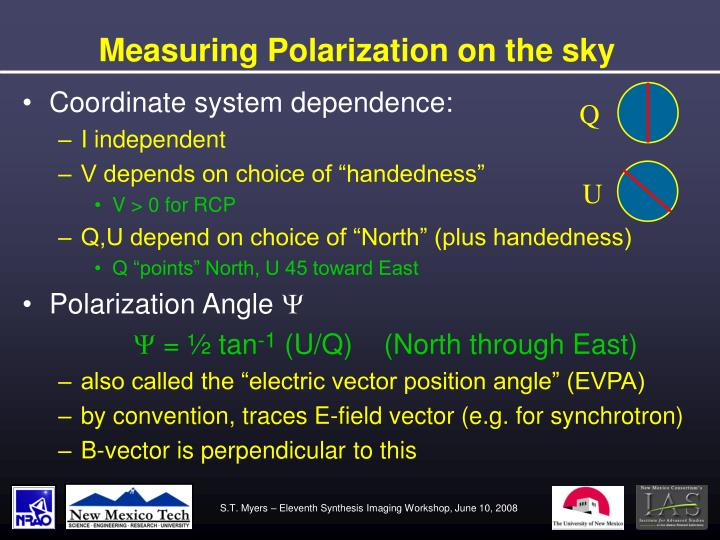 Measuring Polarization on the sky