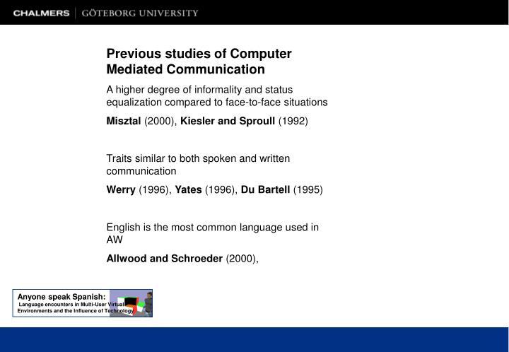Anyone speak Spanish: