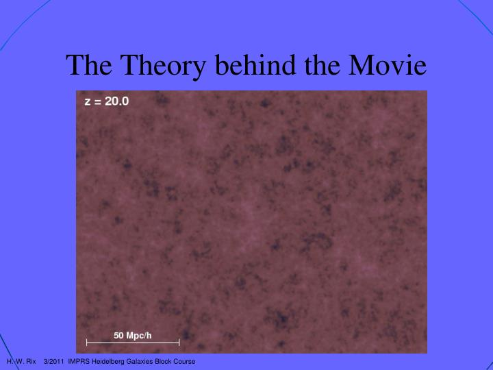 The Theory behind the Movie