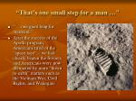 that s one small step for a man