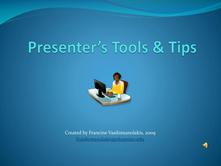 presenter s tools tips n.