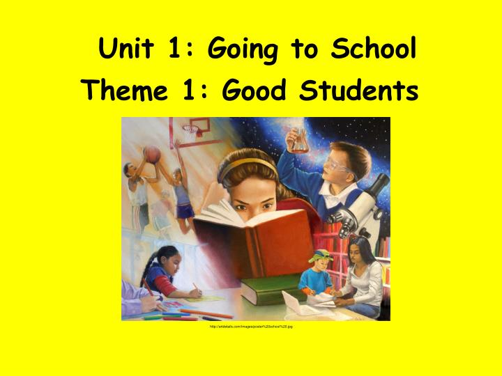 unit 1 going to school n.