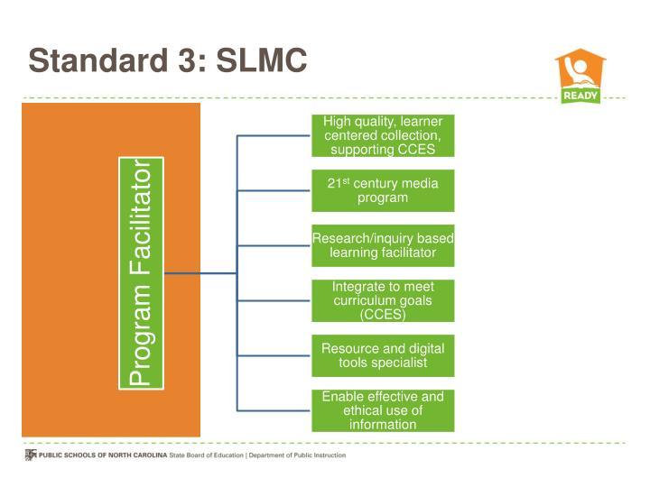 Standard 3: SLMC
