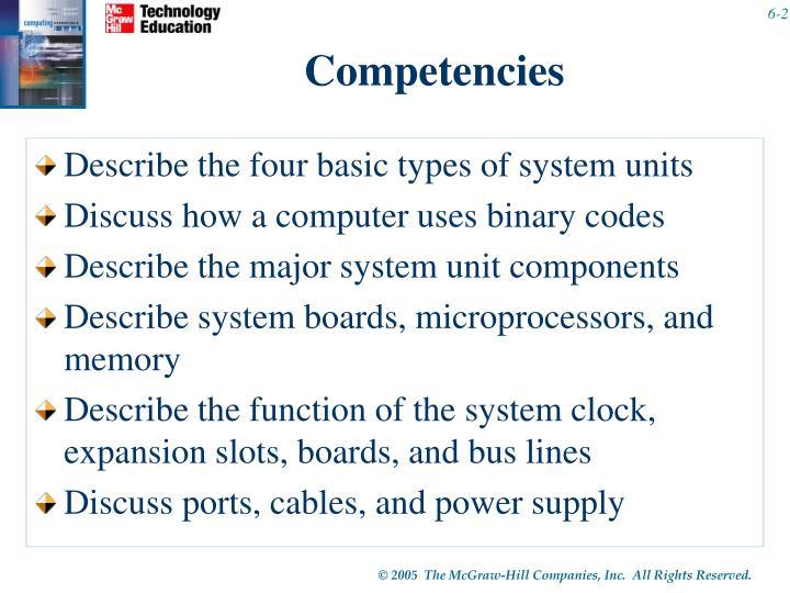 Competencies