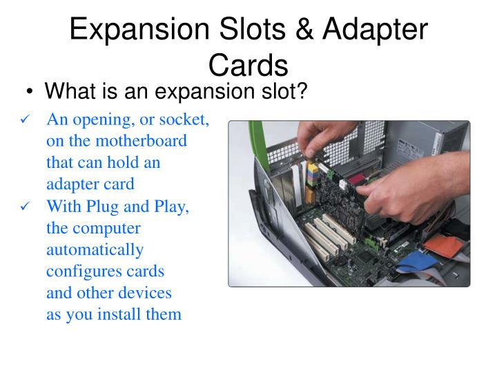 Expansion Slots & Adapter Cards