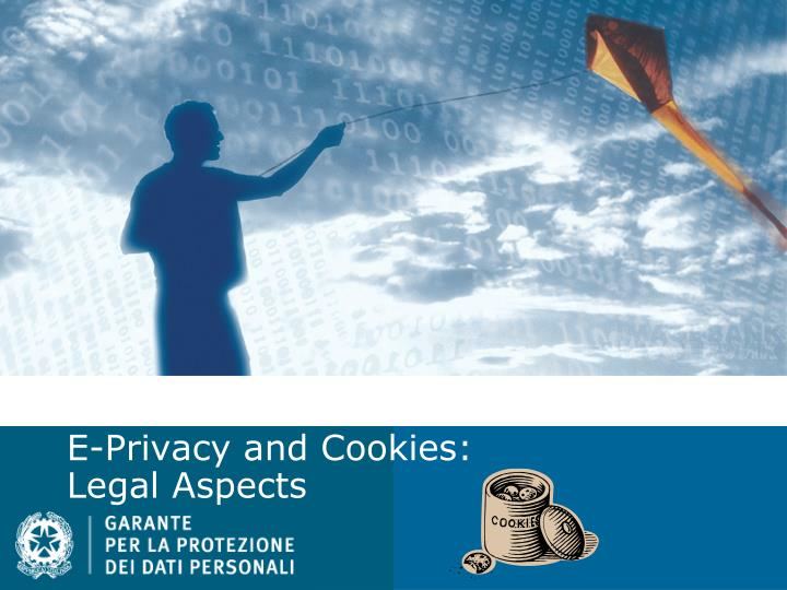 e privacy and cookies legal aspects n.