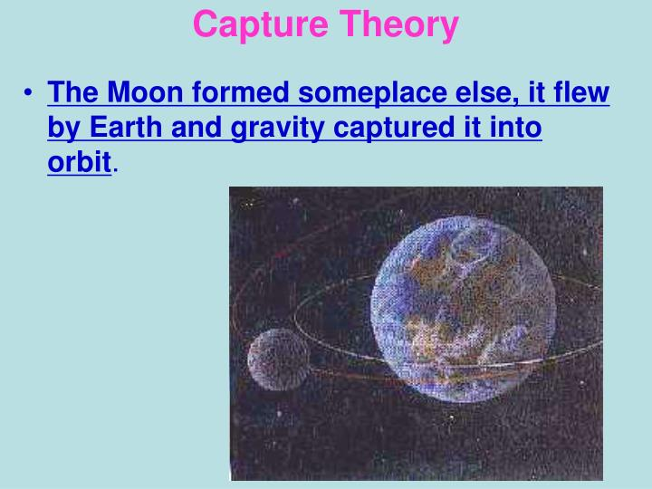 Capture Theory