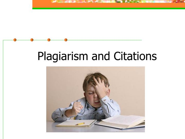 plagiarism and citations n.