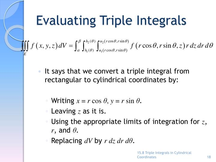 Evaluating Triple Integrals