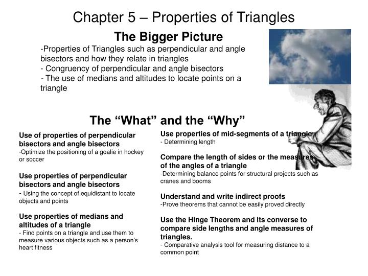 chapter 5 properties of triangles n.