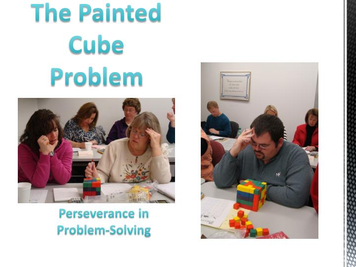 The Painted Cube Problem